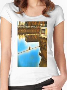 In Private Women's Fitted Scoop T-Shirt