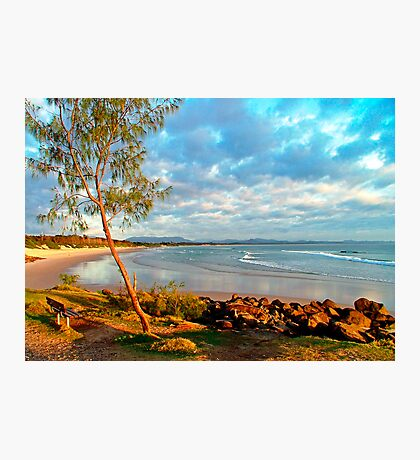 Dawn at Byron Bay, NSW, Australia Photographic Print