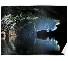 Gigantic Lao cave; where's Dave? Poster