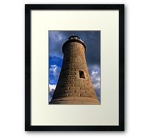 Tynemouth Lighthouse Framed Print