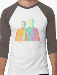 Inside We Are The Same Psychedelic Men's Baseball ¾ T-Shirt