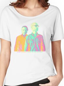 Inside We Are The Same Psychedelic Women's Relaxed Fit T-Shirt