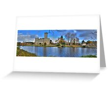 Chateau de Montbrun, Haute Vienne, France Greeting Card