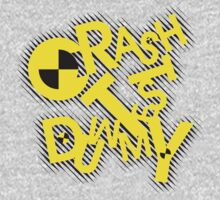 crash test dummy Kids Clothes
