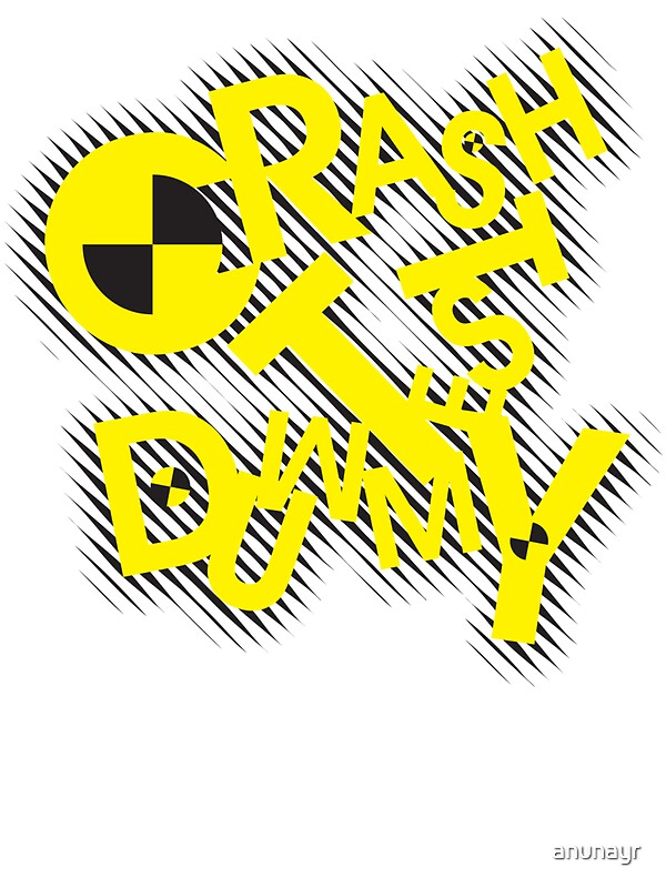 Quot Crash Test Dummy Quot Stickers By Anunayr Redbubble