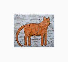 The Ginger Tom Pattern Cat Unisex T-Shirt