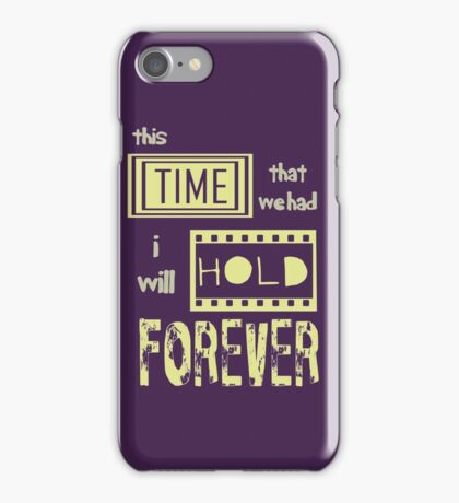 This time... iPhone Case/Skin