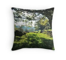 Bank Slack Throw Pillow