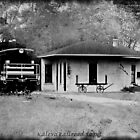 Kaleva RailRoad Depot by Shelly Harris