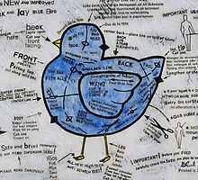 The Peck and Lay Blue Bird by Bonnie coad