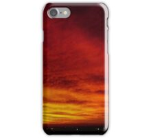 Fire In The Sky - Sydney - Australia iPhone Case/Skin