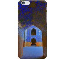Corridors - Imam Mosque - Esfahan - Iran iPhone Case/Skin
