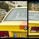 Just Chillaxing in Tehran Traffic by Bryan Freeman
