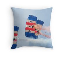 The RAF Falcons Freefall Parachute Display Team 1 Throw Pillow