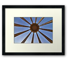 The Tomb of Avicenna (Ibn Sīnā) - Hamadan - Iran Framed Print