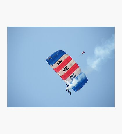 The RAF Falcons Freefall Parachute Display Team 2 Photographic Print