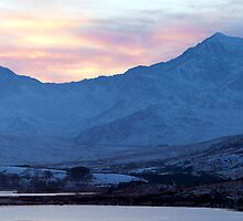 Snowdon Sunset by Jonathan Maddock