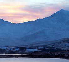 Snowdon Sunset by Jonathan Maddock