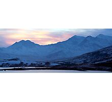 Snowdon Sunset Photographic Print