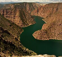 Red Canyon Overlook by Ryan Houston