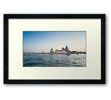 Venice at sunset. Italy Framed Print