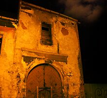 Abandoned Building In the Darkness of the Night by theblueribbon