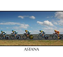 TEAM ASTANA by Eamon Fitzpatrick
