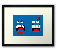 Dr FACE Framed Print