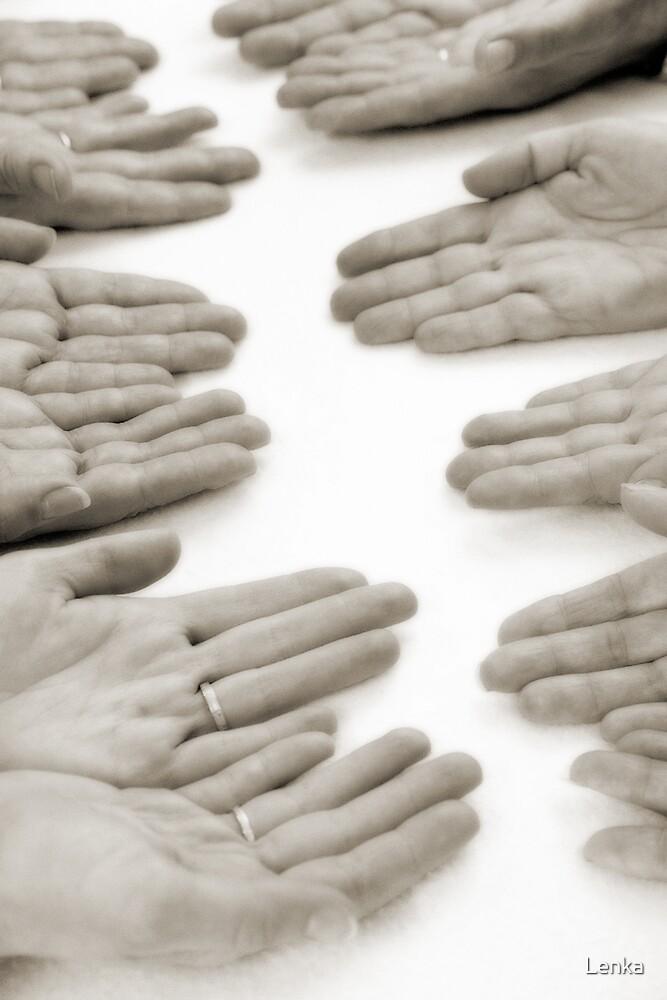 Hands: Meeting by Lenka