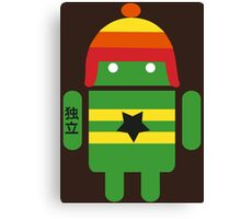 Droidarmy: Browncoat Canvas Print
