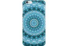 Light Blue Kaleidoscope / Mandala auf Redbubble von pASob-dESIGN