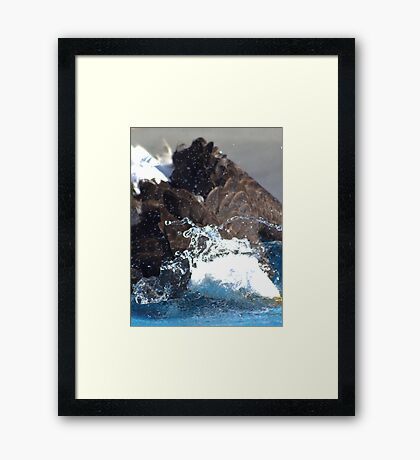 Manwe Goes Fishing Framed Print