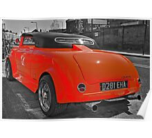Chop-Top, Lo-Ride Mini Mini - Camden Town - London Poster