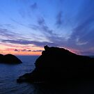 Cornwall: Coastal Silhouettes at Boscastle by Rob Parsons