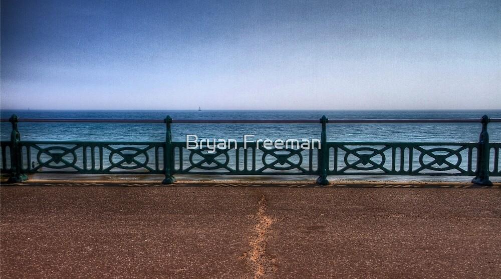 Brighton Sea Front - England by Bryan Freeman