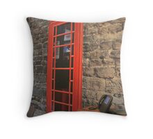 Telephone Room Throw Pillow