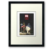 Big Hero 6 - Totoro's Version Framed Print