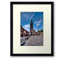 Coventry Cathedral, England Framed Print