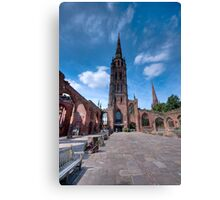 Coventry Cathedral, England Canvas Print