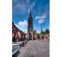Coventry Cathedral, England Photographic Print