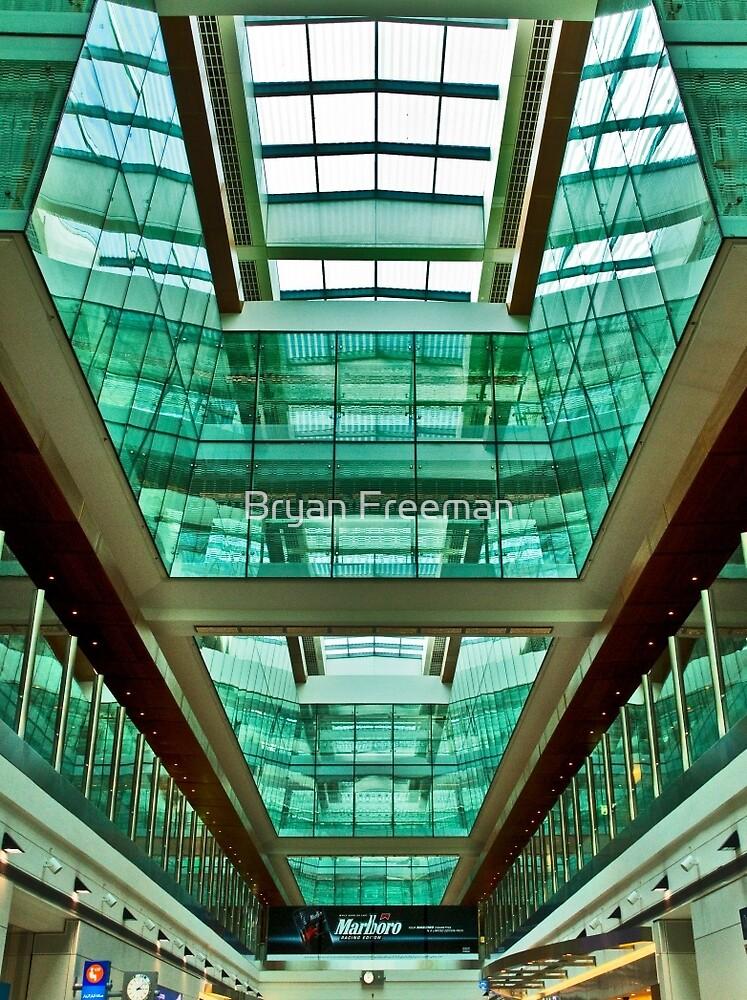 The Green Rooms - Dubai International Airport by Bryan Freeman