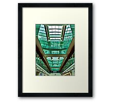 The Green Rooms - Dubai International Airport Framed Print