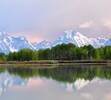 Sunrise at Oxbow Bend by becmayr