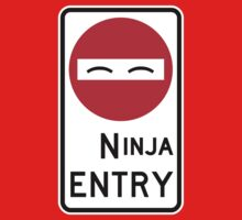 Ninja Entry Kids Clothes