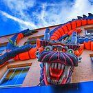 Dragonula - Camden Markets - London by Bryan Freeman