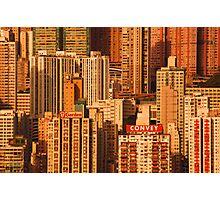 Hong Kong High Rise Photographic Print