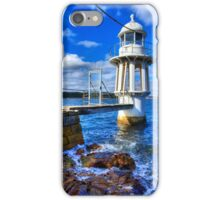 Robertson's Point Lighthouse - Sydney - Australia iPhone Case/Skin