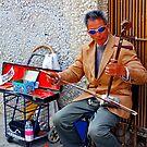 Chinatown Street Musician 2 by Tamara Valjean