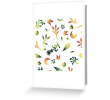 - Watercolor pattern - Greeting Card