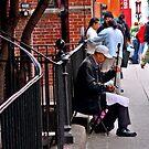 Chinatown Street Musician 4 by Tamara Valjean